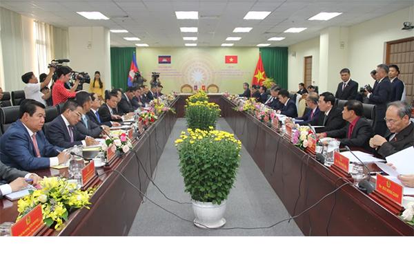 Việt Nam, Campuchia hợp tác chặt chẽ về an ninh, phòng chống tội phạm
