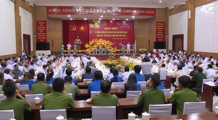 Họp mặt kỷ niệm 90 năm thành lập Đảng Cộng Sản Việt Nam và mừng xuân Canh Tý 2020