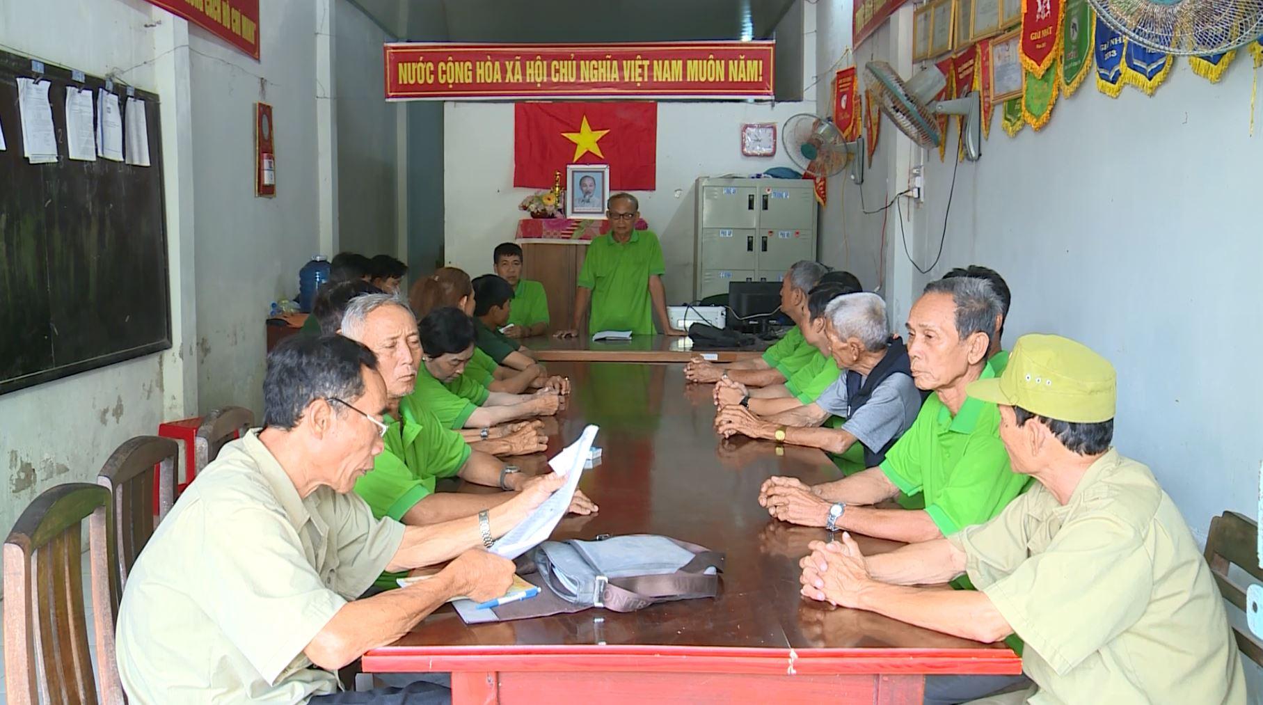 Hội cựu chiến binh xã Vĩnh Tuy với phong trào học tập làm theo lời Bác