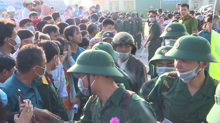 Kiên Giang tưng bừng ngày hội tòng quân