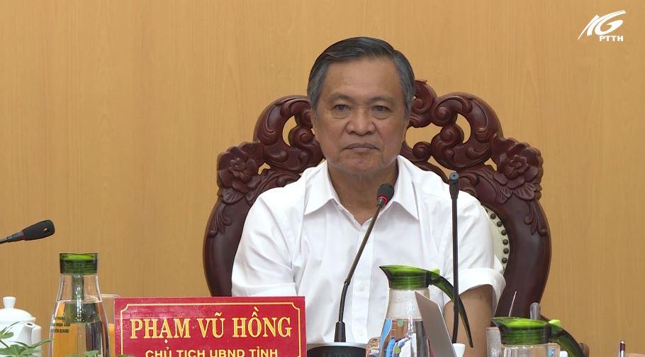 Chủ tịch UBND tỉnh Kiên Giang làm việc với Sở Xây dựng
