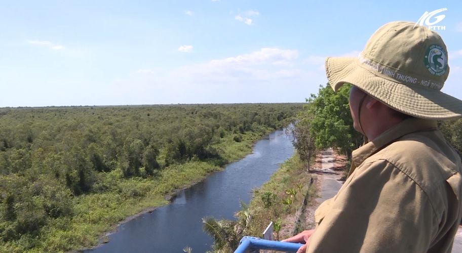 Vườn Quốc gia U Minh Thượng tăng cường công tác PCCC rừng
