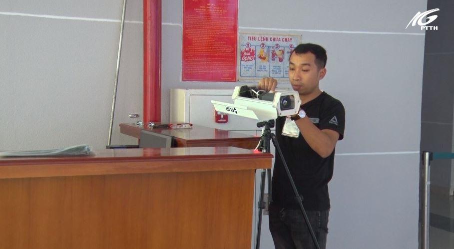 Sân bay quốc tế Phú Quốc trang bị máy đo thân nhiệt từ xa