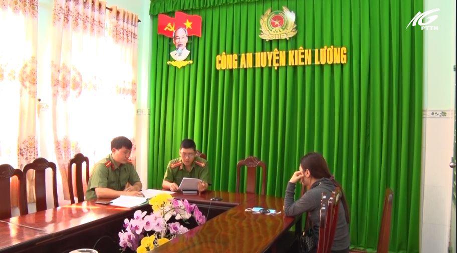 Huyện Kiên Lương: Phạt người đăng thông tin sai sự thật, mang tính kích động về dịch COVID-19