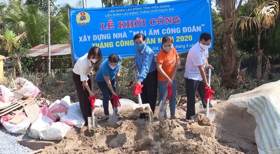 LĐLĐ tỉnh Kiên Giang khởi động tháng công nhân 2020