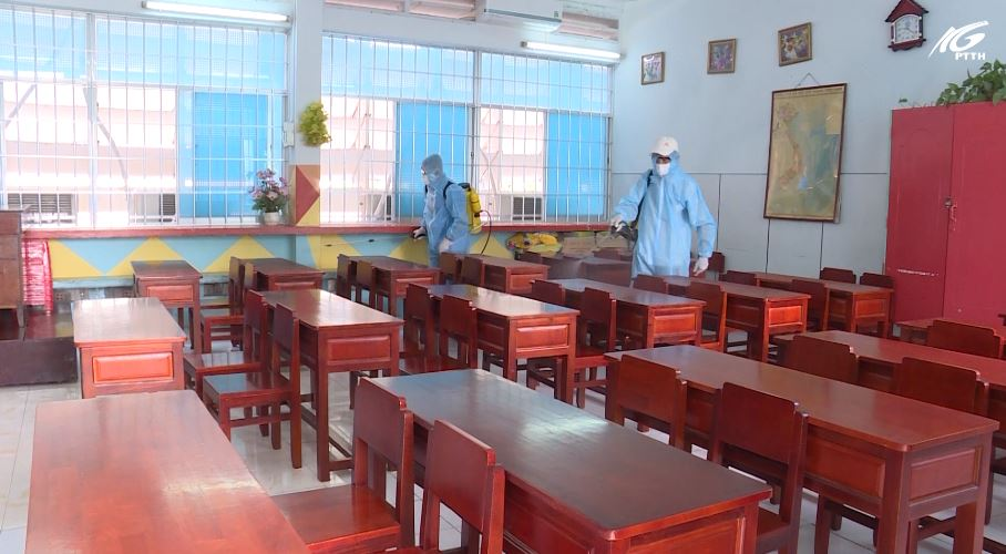 Đảm bảo các điều kiện đón học sinh trở lại trường trong đợt II