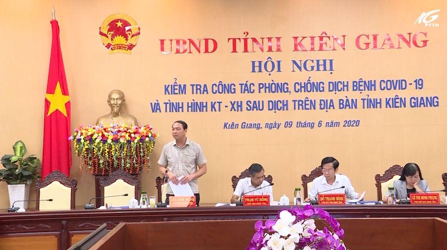 Hội nghị kiểm tra công tác phòng, chống dịch bệnh COVID-19 và tình hình kinh tế-xã hội sau dịch