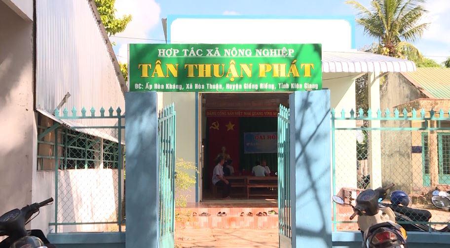 Huyện Giồng Riềng nâng cao hiệu quả kinh tế tập thể