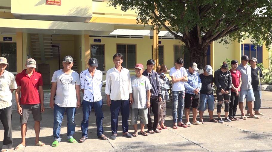 Huyện Châu Thành: Bắt 16 đối tượng đánh bạc với hình thức núp bóng game bắn cá