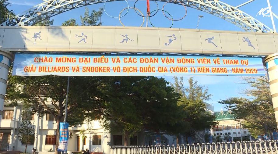 Kiên Giang đăng cai giải Billiards và Snooker vòng 1 Vô địch quốc gia năm 2020