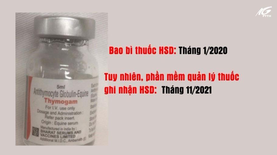 Nghi ngờ có dấu hiệu tráo thuốc tại BV Truyền máu Huyết học TPHCM