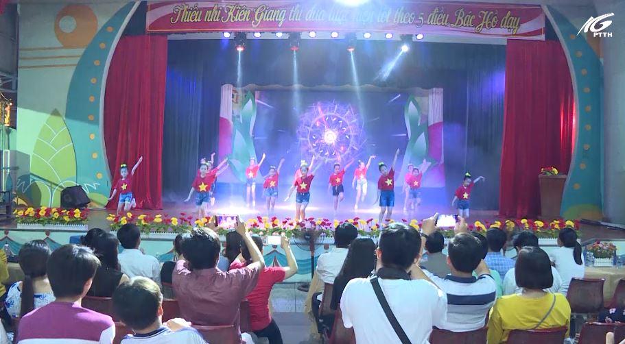Khai mạc hoạt động văn hóa thể thao thiếu nhi Kiên Giang 2020