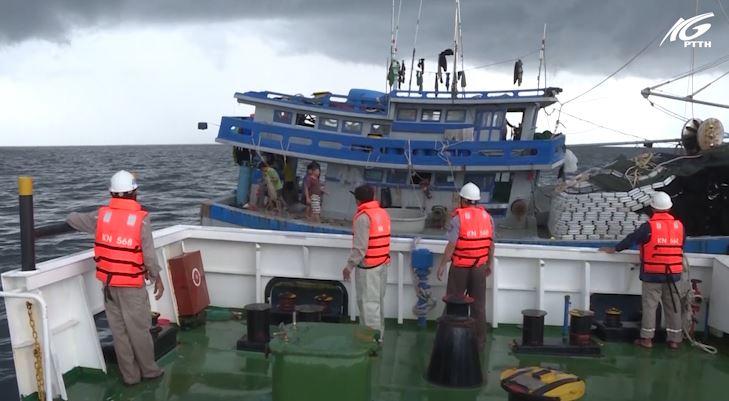 Phát hiện tàu cá Kiên Giang vi phạm vùng biển nước ngoài
