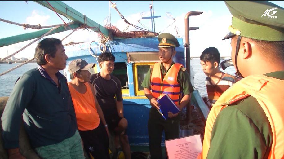 Bộ đội biên phòng Kiên Giang tăng cường công tác chống buôn lậu trên biển