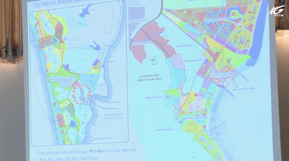 Thông qua đồ án quy hoạch Hàm Ninh huyện Phú Quốc