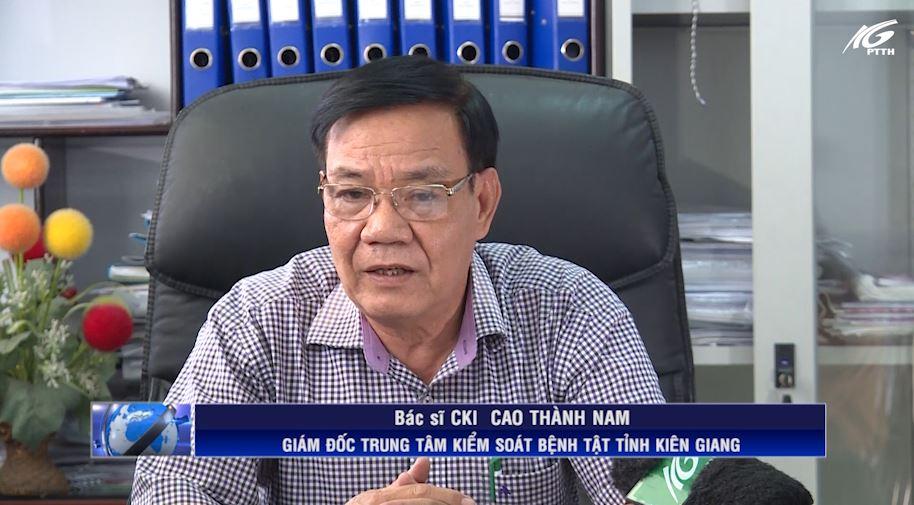 BS.CKI Cao Thành Nam trả lời phỏng vấn về tình hình dịch bệnh