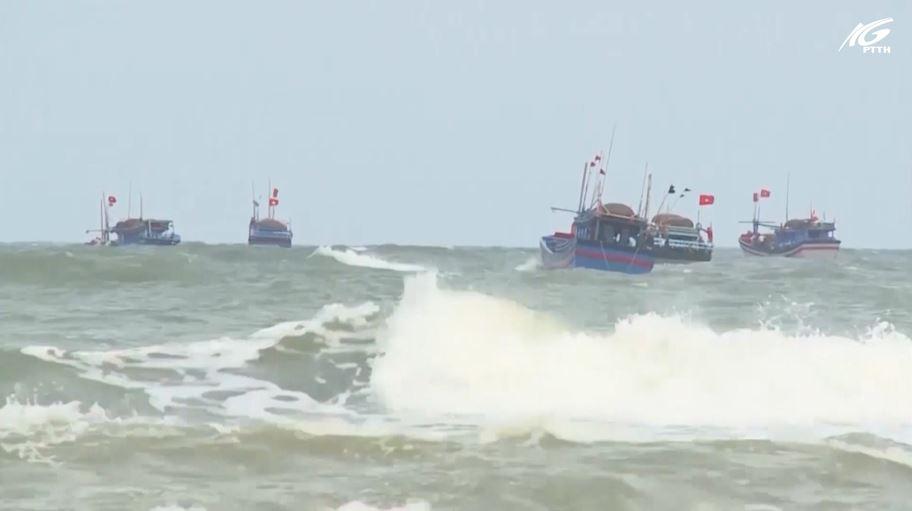 Cảnh báo tai nạn tàu cá do thời tiết nguy hiểm