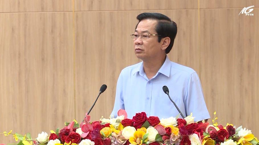 Phát biểu chỉ đạo của Bí thư tỉnh ủy Đỗ Thanh Bình về công tác tổ chức xây dựng Đảng năm 2021