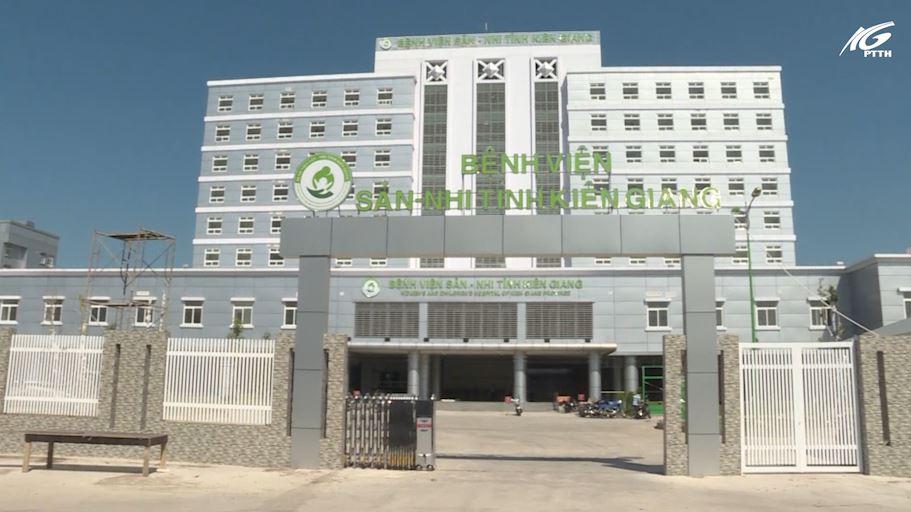 Công tác chuẩn bị sẵn sàng di dời về Bệnh viện Sản - Nhi Kiên Giang
