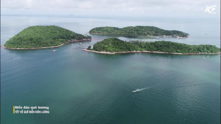 Tết về quê biển Kiên Lương
