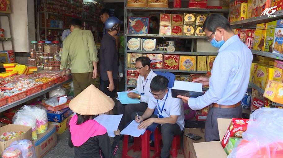 Đoàn liên ngành Tp. Rạch Giá kiểm tra an toàn thực phẩm