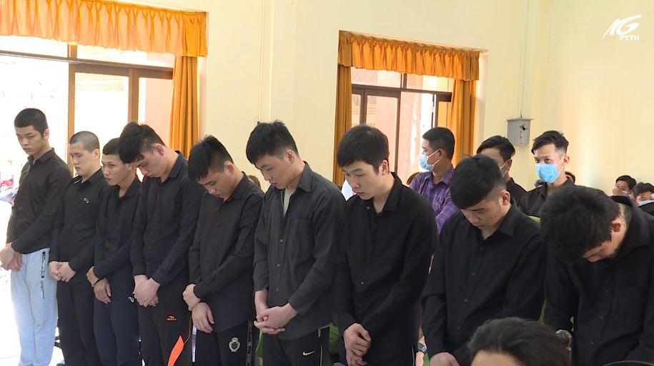 Huyện Vĩnh Thuận: Xét xử vụ giết người; cố ý gây thương tích; gây rối trật tự công cộng