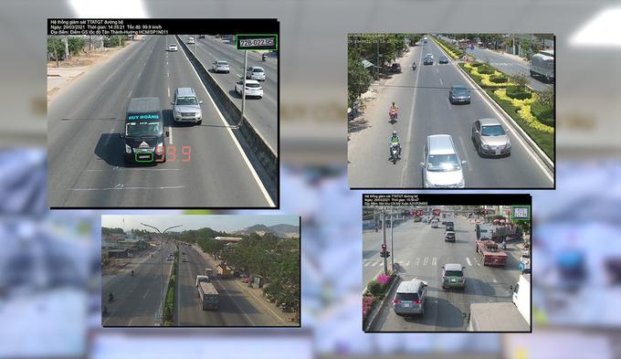 Camera bắt lỗi vi phạm giao thông trên quốc lộ 51