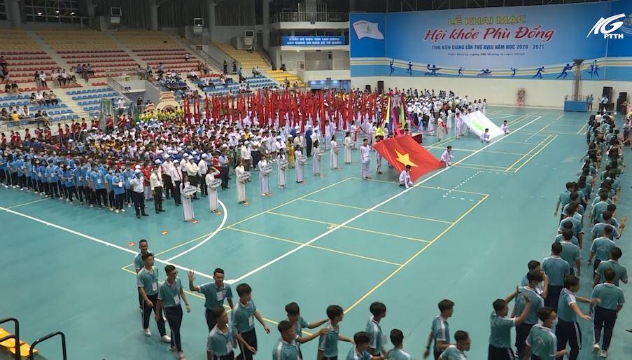 Bế mạc Hội Khỏe Phù Đổng tỉnh Kiên Giang