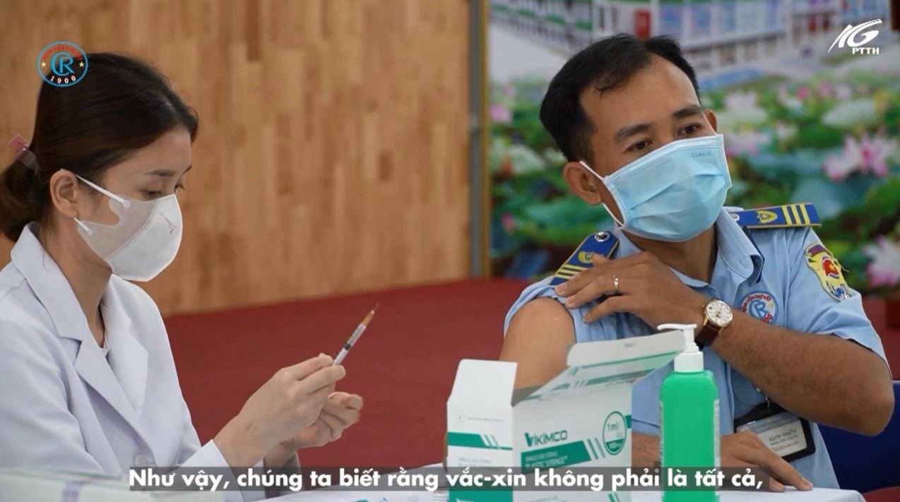 Tiêm vaccine tránh được diễn biến trở nặng khi nhiễm SARS-CoV-2